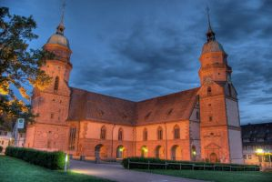 Freudenstadt Church HDR 2 by Rellim