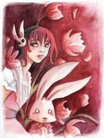 Alice and the Bunny by Ariochdesign