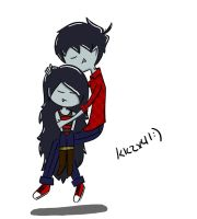 Marshall Lee x Marceline by kkzx4