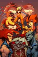 Thundercats COLORS by pacman23