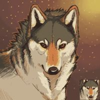 Free Timberwolf icon by SmidgeFish