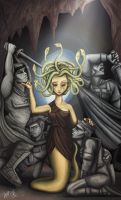 Medusa And Her Men by whysoawesome