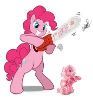 MLP pinkie pie revenge ! by zeronitan