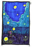 Brave One and the Fireflies by catboyd
