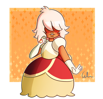 Padparadscha Sapphire by CelMW