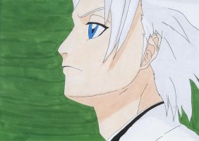 Toshiro Hitsugaya by IXcutionI
