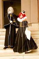 cosplay Esther and Abel 3 by NakagoinKuto