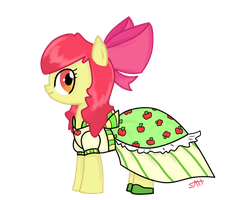 Apple Bloom ready for the Gala by AnneHairball