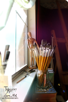 Brushes by my Windowsill by TransientArt