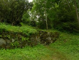 Stone Wall 2 by HauntingVisionsStock