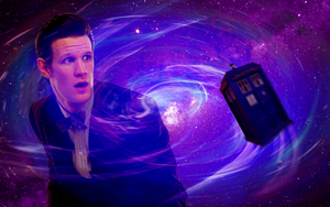 Eleventh Doctor wallpaper by Leda74