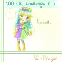 [100 OC CHALLENGE #5] Kendall [Val-Krayon] by MiMikuChair