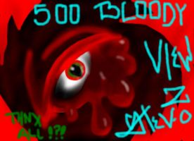 500 bloody views from all of u by alchybear