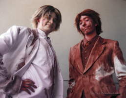Baccano: Russo and Vino by EpicTea