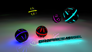 Neon Balls by Graphics-Angel