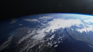 CG Earth Render 1 by Alienphysique