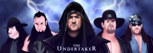 The Undertaker (25th Anniversary Tribute Artwork) by remle012