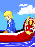 The Wind Waker by Chosen-of-Xenodrupe