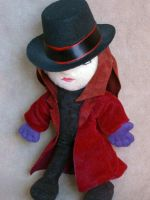 Willy Wonka Plushie by leloi