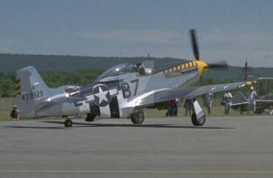 P-51 Mustang Taxiing by focallength