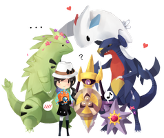 Pokemon X and Y Team by Chyal