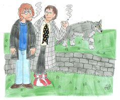 Withnail and Marwood by EmperorNortonII