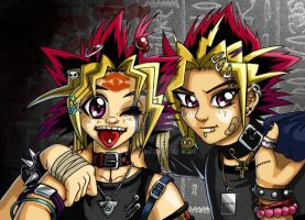 yami and yugi by Nuni87