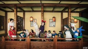 A Very Ghibli Gathering by Red-Ribbon-Cosplay