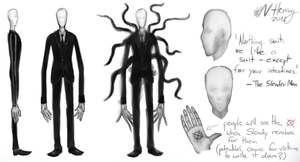 The Slender Man Ref Sheet by McFluffy412