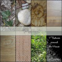 7 Textures around the House by ArtandMore