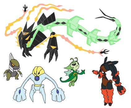 Fusions set 50 by JWNutz