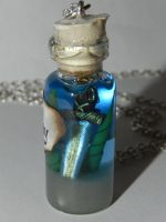 Merlin, Excalibur Sword in a Bottle, TV Show Inspi by Secretvixen
