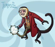 047 - Time Monkey by DBed