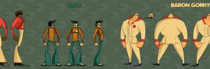 Smith and Besson character sheet by Nagymarci