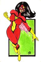 Spider-Woman by stalk