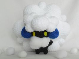 shiny whimsicott for NefariousElentir by MasterPlanner