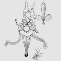 Sailor Fionna Concept Art by Coco-Apple