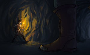 Lurking in the Dark by hyperionwitch