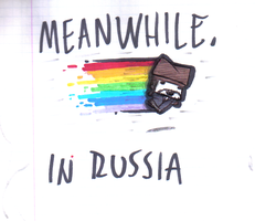 MEANWHILE by PoisonousJoy