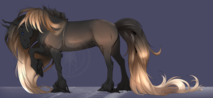 Horse (closed) Adoptable by MykalaBlue