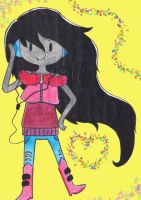 Marceline by Ancyd-Watercolour