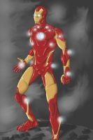 Iron Man Test by 8comicbookman8