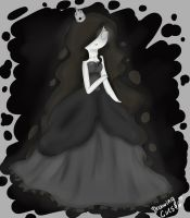 Darkness princess ~ Dress design by Drawing-Heart