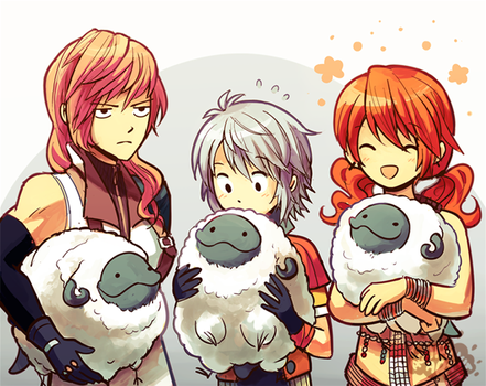 Happy Year of the Sheep! by aquanut