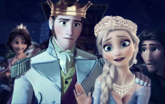 Frozen and Tangled by Simmeh