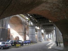 Under The Castlefield Viaducts by Party9999999