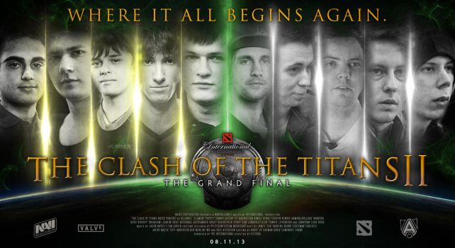 TI3 - Clash of the Titans II: Grand Final by goldenhearted