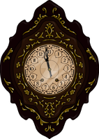 13th Hour Clock by thedustyphoenix