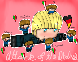 Attack of the Italys by Hallerpl