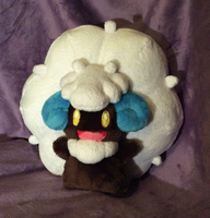 Shiny Whimsicott by SewnRiver